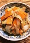 水煮サバ缶の炒め煮