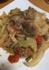 美味しい!豚肉と野菜のワサビ醤油炒め
