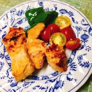 簡単☆鶏むね肉の味噌焼
