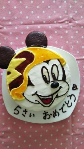 ミッキーマウスとロードレーサーズ ケーキ