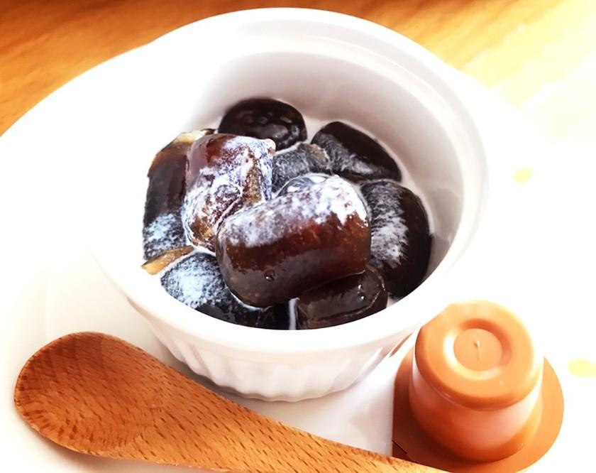 片栗粉で簡単 プルプルコーヒーわらび餅