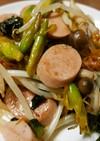 カンゾウの蕾と野菜等の油炒め(^^)
