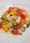 ズッキーニのチョップドサラダ