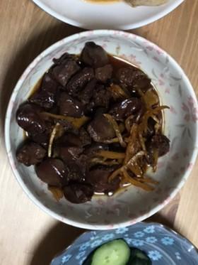 レバーの生姜煮