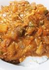 サバ缶と野菜たくさんカレー