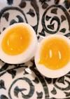 半熟塩味付きのゆで卵