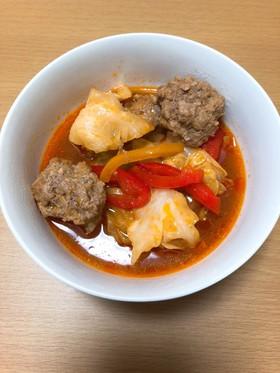 つなぎ無し*肉団子トマトスープ