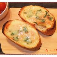 5分簡単美味❢明太チーズフランス(パン)