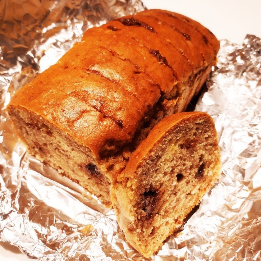 超簡単!砂糖&バター控えめパウンドケーキ
