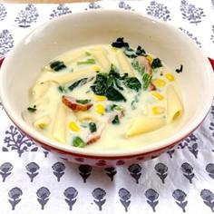 簡単!豆乳クリームスープ
