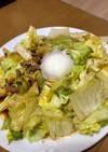 レタスのピリ辛サラダ