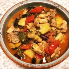 鶏肉と野菜のトルコ風煮込み