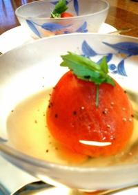 冷やしても美味しい♪トマトのおでん