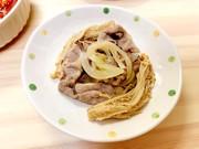 【簡単】豚肉とえのきのヘルシー塩炒めの写真