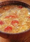 夏にピッタリ♪旬のトマトと卵のお味噌汁☆