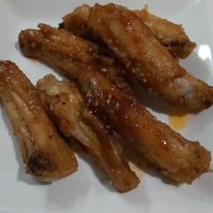 鶏手羽中の甘辛ダレ覚書