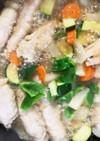 大葉となすの肉巻きと野菜たっぷり甘味噌煮