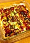 焼くだけ!簡単♪ポテトのピザ風グラタン