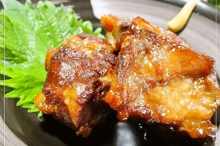 豚 軟骨 圧力 鍋 圧力鍋で豚軟骨の煮込み(ソーキ) by