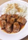豚ばら肉の重ね角煮