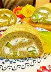 メロンロールケーキ♡ヨーグルトクリーム
