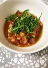 【常備菜】トマトの麺つゆ漬け