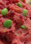 すいか色のビーツポテトサラダ