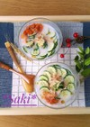豆乳で☆豆腐とキムチの冷汁*ローフード*