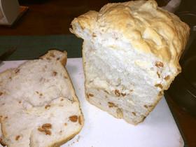 干し納豆と酒かすの食パン