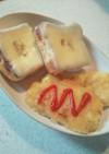 お餅を使ったもちもちハッシュドポテト