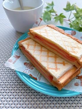 ハムとチーズの簡単★ホットサンド