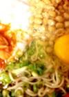 スタミナ5色ぶっかけ蕎麦