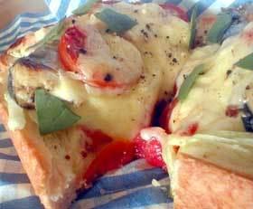 オイルサーディンのオープントースト
