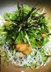 毎日の納豆●しらす炒め&きざみネギ