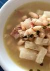 白いんげん豆とだいこんのスープ
