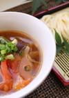 【熱中症予防レシピ】夏野菜つけうどん