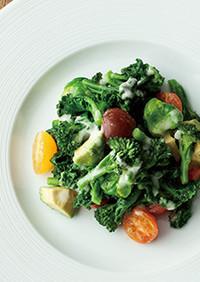 ネギネージュを使った温野菜サラダ