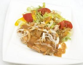 中村家 鶏もも肉のソテー 糀みそソース