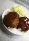つなぎなし!簡単照り焼き豆腐ハンバーグ