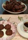 バレンタインにカントリーマアム風クッキー