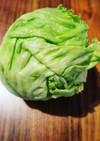 レタスの冷凍保存の方法