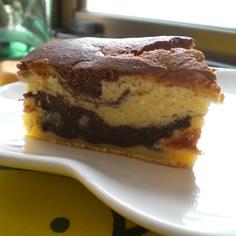 ココアマーブルケーキ