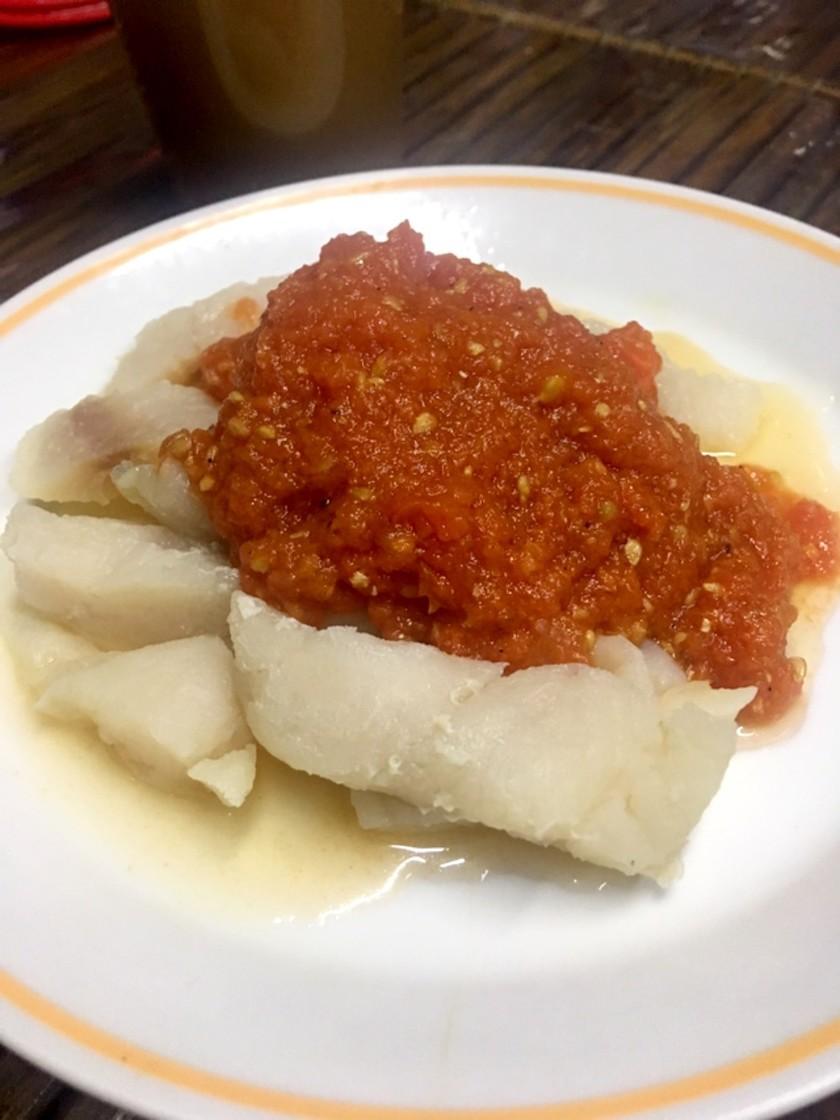 簡単!白身魚のトマトソース