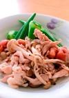 豚肉とオクラのさっぱり梅干し煮✤温or冷