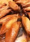 手羽中のニンニク醤油焼き