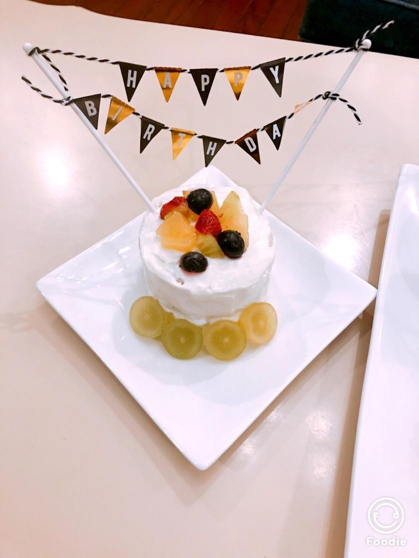 離乳食birthdayケーキ