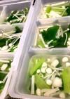 白だしで簡単★小松菜とえのきのスープ