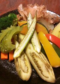 桜ます温野菜サラダ