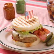 ボリュームパテ☆アメリカンハンバーガーの写真