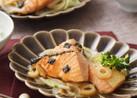 ご飯にピッタリ!鮭の和風マリネ